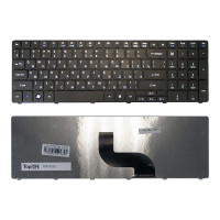 Клавиатура для ноутбука Acer Aspire Timeline 5810T 5410T 5820TG 5536 5738 5739 5542 5551 5553G 5741G 5745 7540G 7551G 7736ZG 7745G 8935G. Черная.