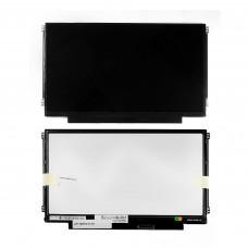 """Матрица для ноутбука 11.6"""" 1366x768 WXGA, 40 pin LVDS, Slim, LED, TN, крепления слева/справа (уши), глянцевая. PN: N116BGE-L42."""
