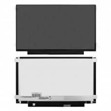 """Матрица для ноутбука 11.6"""" 1366x768 WXGA, 30 pin eDP, Slim, LED, TN, крепления слева/справа (уши), матовая. PN: NT116WHM-N21."""