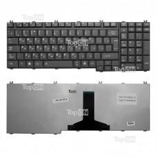 Клавиатура для ноутбука Toshiba Satellite A500 A505 L350 L355 L500 L505 L550 F501 P200 P300 P500 P505 X200 Qosmio F50 G50 X300 X305 Series. Черная.