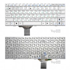 Клавиатура для ноутбука Asus Eee PC 1000 1000H 1000HA 1000HC 1000HD 1000HE Series. Белая.