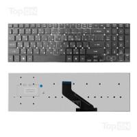 Клавиатура для ноутбука Acer Aspire 5755, 5755G, 5830, 5830G, 5830T, V3-551, V3-571,  V3-771 Series. Г-образный Enter. Черная, без рамки. PN: MP-10K33SU-698.
