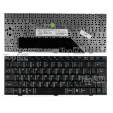 Клавиатура для ноутбука MSI Wind U90 U100 U110 U120 Mini 1210 E1210 RoverBook Neo U100WH Series. Черная.