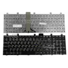 Клавиатура для ноутбука MSI VX600 EX600 EX700 GX600 GX700 CR500 CR600 CR700 VR600 VR700 CX500 CX600 CX700 GT660 ER700 A5000, LG E500 Series. Черная.