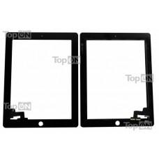 """Сенсорное стекло (тачскрин) для планшета Apple iPad 2 9.7"""" 1024*768, IPS LED. Оригинал. Черный."""