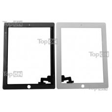 "Сенсорное стекло (тачскрин) для планшета Apple iPad 2 9.7"" 1024*768, IPS LED. Оригинал. Белый."