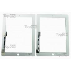 "Сенсорное стекло (тачскрин) для планшета Apple New iPad 3, iPad 4 9.7"" 2048*1536, Retina IPS LED. Оригинал. Белый."
