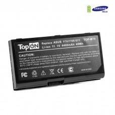 ASUS F70 G71 G72 M70 N70 N90 Pro70 X71 X72 Series аккумулятор для 11.1V 4400mAh PN: A32-F70 A32-M70 A32-N70 A41-M70 A42-M70 L0690LC L082036 Черный