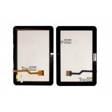 """Сенсорное стекло (тачскрин) для планшета Samsung Galaxy Tab P7300 8.9"""" 1280x800. Оригинал. Черный."""