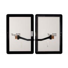 """Сенсорное стекло (тачскрин) для планшета Samsung Galaxy Tab P7500 P7510 10.1"""" 1280x800. Оригинал. Черный."""