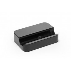 Универсальная док-станция для Samsung Galaxy S4, S4 mini, S3, S3 mini и других смартфонов с разъемом micro USB. Замена: EDD-D200BE. Черная.