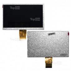 """Матрица для планшета 7.0"""" 800x480, 50 pin, LED для Texet TM-7023. Замена: GL070007T0-50 Ver 2 Серебряная"""