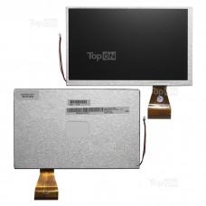 """Матрица для планшета 7.0"""" 800x480, 60 pin, LED для DNS AirTab E71. Замена: A070VW04 V0 ALED070WVGA Серебряная"""