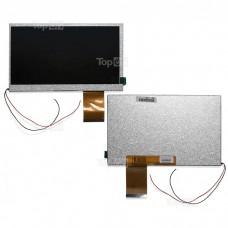 """Матрица для планшета 7.0"""" 800x480, 60 pin LED для RITMIX RMD750Texet TM-7025RoverPad 3WT71D.Замена:TG700F24DigitalFPC-Y81860V03H-B07015FPC-20Серебяная"""