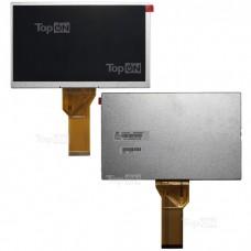 """Матрица для планшета 7.0"""" 800x480, 50 pin, LED дляTexetTM-7021,IconBit NetTAB Sky,RamosW10, Portable DVD-плеер.Замена:AT070TN94 20000600-32Серебряная"""