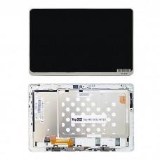 "Дисплей (матрица и тачскрин) для планшета 10.1"" 1366x768, для Acer Iconia Tab W510 W511. Белый. LP101WH4(SL)(AA)"