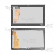 "Сенсорное стекло (тачскрин) для планшета Asus Eee Pad Transformer TF600, TF600TG, Vivo Tab RT TF600T, 10.1"" 1366x768. Оригинал."