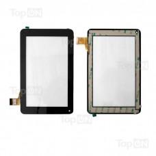"""Сенсорное стекло (тачскрин) для планшета Digma iDj7n, MOMO9 MRM-POWER 7"""" 840x480. FPC-TP070011 (DR1334) Оригинал. Черный."""