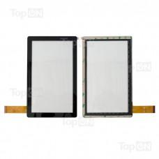 """Сенсорное стекло (тачскрин) для планшета Q8 7"""" 800x480. Оригинал. Черный."""