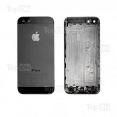 Задняя панель для смартфона Apple iPhone 5, A+. Черная.