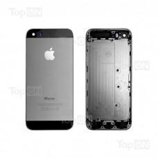 Задняя панель для смартфона Apple iPhone 5S, A+, Черная.