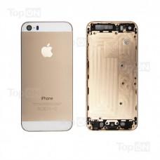 Задняя панель для смартфона Apple iPhone 5S, A+, Золотая.