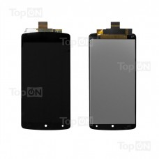 """Матрица и тачскрин (сенсорное стекло) в сборе для смартфона Nexus 5 (D820, D821), дисплей 4.95"""" 1080x1920, A+. Черный."""