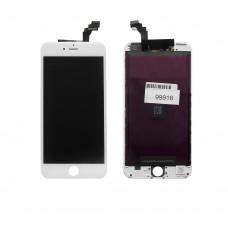 """Матрица и тачскрин (сенсорное стекло) для смартфона Apple iPhone 6+ (оригинал от официального поставщика Apple),  5,5"""" 1920x1080, A+. Белый."""