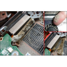 Как часто надо делать чистку ноутбука, чтоб избежать поломки?