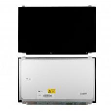 "Матрица для ноутбука 15.6"" 1366x768 WXGA, 40 pin LVDS, Slim, LED, TN, крепления сверху снизу (уши), глянцевая. PN: NT156WHM-N10."