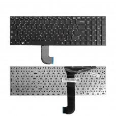 Клавиатура для ноутбука Samsung RC730, RF710, RF711 Series. Плоский Enter. Черная, без рамки. CNBA5902847CBIH