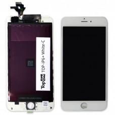 "Матрица и тачскрин (сенсорное стекло) для смартфона Apple iPhone 6+, 5,5"" 1920x1080, A+. Белый."