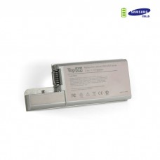 Аккумулятор для ноутбука Dell Latitude D531, D820, D830, Precision M65, M4300 Series. 11.1V 7200mAh 80Wh, усиленный. PN: CF623, DF192. Серый.