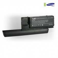 DELL Latitude D620, D630, Precision M2300 усиленный аккумулятор для 11.1V 7200mAh PN: KD494 JD634 PC764 TC030 312-0383 451-10298 Черный