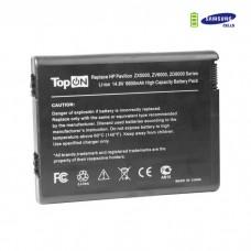 HP nx9100 nx9110 Pavilion ZX5000 ZV5000 Compaq Presario R3000 series усиленный аккумулятор для 14.8V 6600mAhPN:HSTNN-IB04DP390ADP399A346970-001 Черный