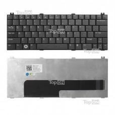 Клавиатура для ноутбука Dell Inspiron Mini 12, 1210 Series. Г-образный Enter. Черная, без рамки. PN: 0K124J, V091302AS1.