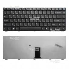 Клавиатура для ноутбука Sony Vaio VGN-NR, VGN-NS Series. Плоский Enter. Черная, без рамки. PN: NSK-S6101, 9J.N0A82.101.