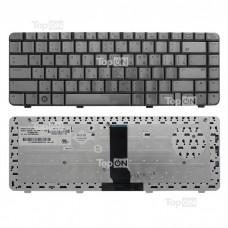 Клавиатура для ноутбука HP Pavilion DV3000, DV3500 Series. Плоский Enter. Бронзовая, без рамки. PN: 9J.N8682.X01, NSK-H5X01.