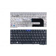 Клавиатура для ноутбука Samsung NC10, N110, N130, N140 Series. Плоский Enter. Черная, без рамки. PN: BA59-02697D, CNBA5902419QBIL.