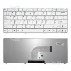Клавиатура для ноутбука Asus N10, N10A, N10C, N10E, N10J, N10JC Series. Г-образный Enter. Белая, без рамки. PN: V090262BS2, 0KNA-1J2RU01.