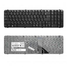 Клавиатура для ноутбука HP Compaq 6830, 6830s Series. Плоский Enter. Черная, без рамки. PN: 490327-251, V071326BS1.