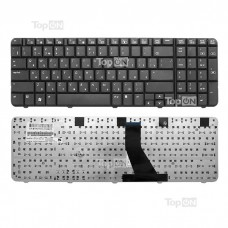 Клавиатура для ноутбука HP Compaq Presario CQ70, G70 Series. Плоский Enter. Черная, без рамки. PN: MP-07F13SU-442, 904D007C0R.