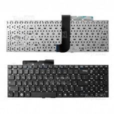 Клавиатура для ноутбука Samsung RF510, RF511, SF510, QX530 Series. Плоский Enter. Черная, без рамки. PN: BA59-02795D, BA59-02795C.