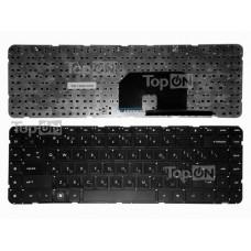 Клавиатура для ноутбука HP Pavilion DV6Z DV6T DV6-3000 DV6-3100 DV6-3300 Series. Черная, без рамки.