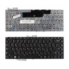 Клавиатура для ноутбука Samsung NP300E4A, NP300V4A, NP-300V3A Series. Плоский Enter. Черная, без рамки. PN: 9Z.N5PSN.70R, BA59-03073C.