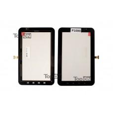 """Сенсорное стекло (тачскрин) для планшета Samsung Galaxy Tab P1000 7.0"""" 1024x600. Оригинал. Черный."""
