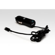 Автозарядка Lightning + порт USB 2.1A. Подходит для Apple iPhone 6 Plus, iPhone 6, других смартфонов и планшетов. Черная.