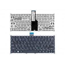 Клавиатура для ноутбука Acer Aspire One 725, 752, 756, Aspire S3, S5 Series. Г-образный Enter. Черная, без рамки.