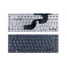 Клавиатура для ноутбука Samsung RC410, RV411, RV412 Series. Плоский Enter. Черная, без рамки. PN: BA59-02939D, CNBA5902939CBIL.