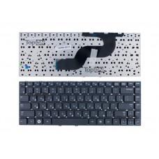 Клавиатура для ноутбука Samsung RV411, RV415, RV420, RC410, E3420, E3415 Series. Плоский Enter. Черная, без рамки. PN: BA59-02939C, V122960BS1.